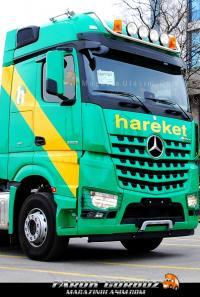 Mercedes Benz Arocs Ağır Nakliye'nın Tercihi