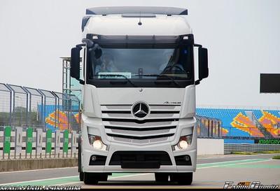 Mercedes Kamyonlar Türkiye Yollarında