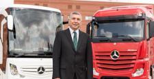 Mercedes Benz'e Türk Başkan