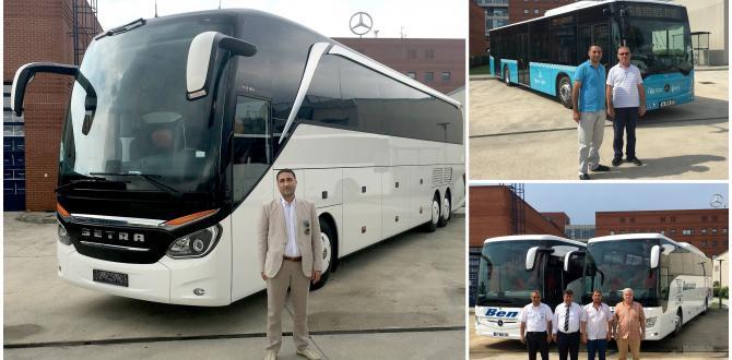 Mercedes Benz Türk'den Yeni Teslimatlar