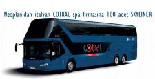 Ankara'dan Roma'ya 100 adet Otobüs