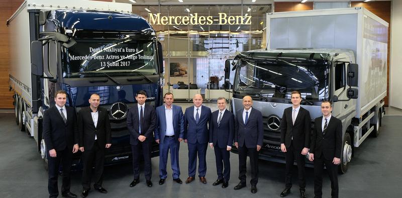 Mercedes 50.yıl teslimatı