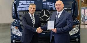 Deniz Nakliyat'ın Kararı Mercedes Benz Yeni Actros