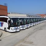 Mercedes'ten Has Turizm'e 30 Otobüs