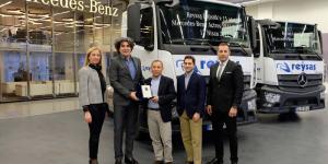 Reysaş Lojistik'in Tercihi Mercedes-Benz Actros