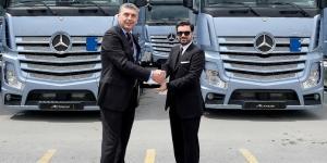 Mercedes Benz Türk'den Orkun Grup'a 100 Actros