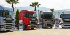 Yeni Scania'lar Türkiye'yi Geziyor