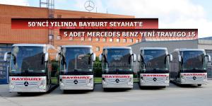 50'NCİ Yılında Lüks Bayburt 10 Otobüs Yatırımı Yaptı