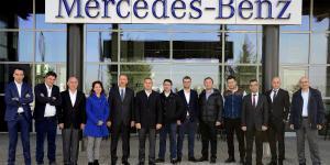 Mercedes Otomotiv Sanayicileri Derneğini Ağırladı
