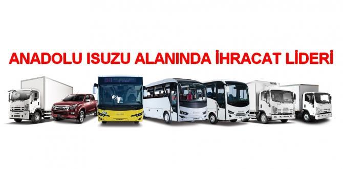 Anadolu Isuzu'dan Rekor İhracat