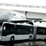 Mercedes-Benz'den 950 adet Citaro!