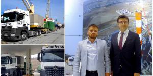 Aydıntaş Vinç 120 Ton Mercedes Benz Arocs'la Güçlendi