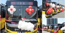 İETT'ye 375 Bmc Otobüs