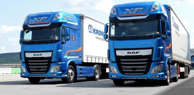 DAF Trucks Yeni Serileriyle Türkiye'de
