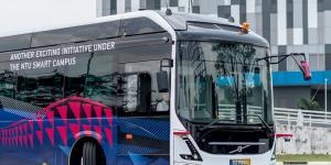 Volvo'dan Yeni Otonom Otobüs