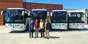Keşan Birlik Filosuna 5 Yeni Tourismo