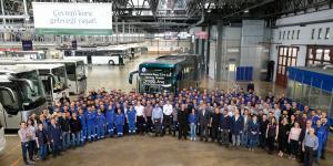 Mercedes-Benz Türkiye'de 90.000'inci Otobüsünü Üretti