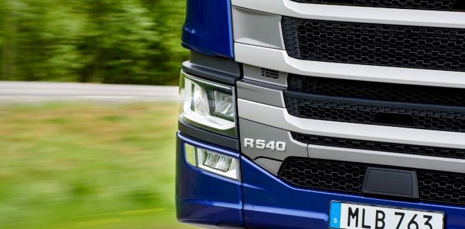 Scania'dan Yeni Motor 540