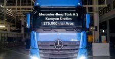 Mercedes-Benz Türk 33 Yılda  275.000 Kamyon Üretti