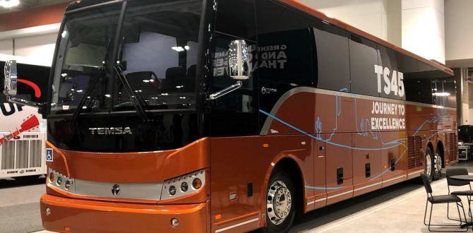 Temsa ABD Pazarına Yeni Otobüsünü Tanıttı