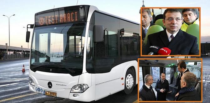 İmamoğlu ; Metrobüs Yatırımı İçin Vaktimiz Çok Az Kaldı