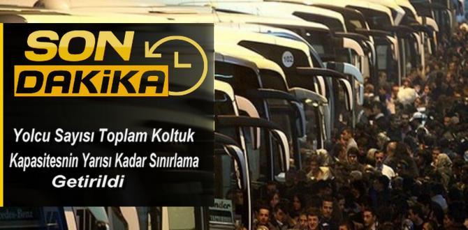 Şehirler arası Otobüslere Sınırlama!
