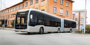 Mercedes Benz'den Yeni Elektrikli Körüklü ECitaro