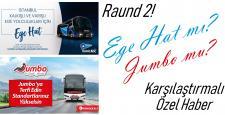 Firmaların İstanbul-İzmir Rekabetinde Raund 2!