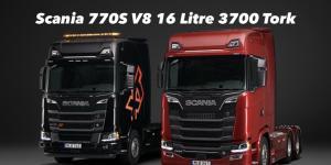 Dünya'nın En Güçlü Çekici ve Kamyonu Scania 770S