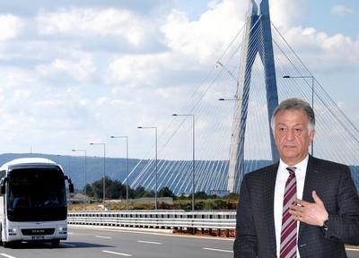 Otobüs Şirketleri ve Yolcuları 3'ncü Köprü'den Şikayetçi!
