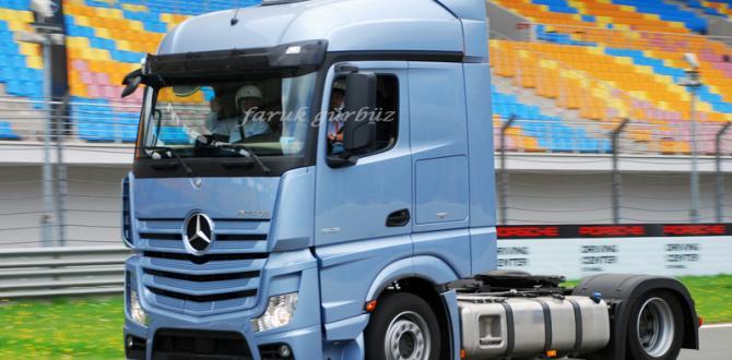 Mercedes Benz Türk'ün En Güvenli Yeni Kamyonları Test Edildi