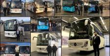 2017 İlk Otobüs Teslimatları Mercedes Benz Türk'den