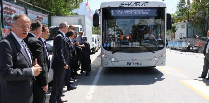 % 100 Yerli Elektrikli Otobüs Manisa'da