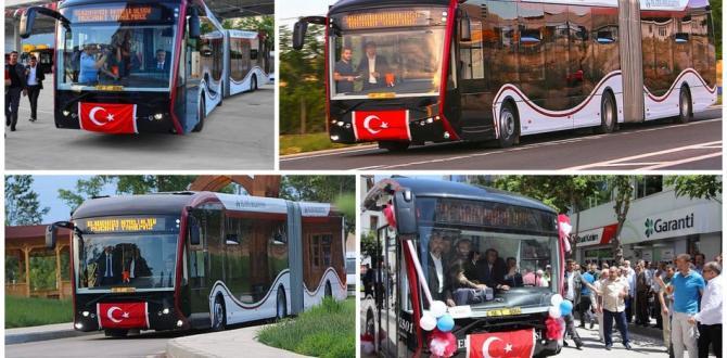 Yerli üretim 'ELBÜS' otobüsler artık Elazığ'da