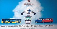 Yeni Havalimanı Otobüs Güzergahları Belli Oldu