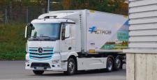 Mercedes'in Elektrikli Actros'u Yollarda