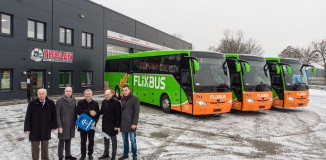 Flixbus'a 4 Temsa Safir HD