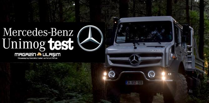 Mercedes-Benz Unimog Şehirde