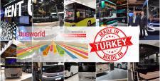 Busworld Avrupa Fuarına Türkiye Damgası Vuruldu