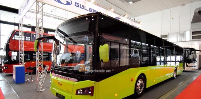 Güleryüz Cobra Busworld Europe Fuarı'na Katıldı