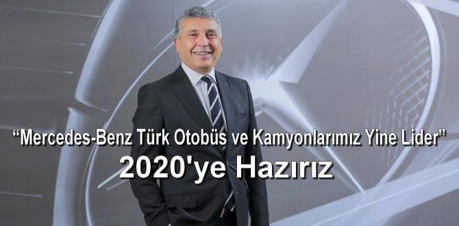 """""""Mercedes-Benz Türk Otobüs ve Kamyonlarımız Yine Lider"""""""