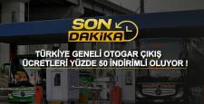 Türkiye Geneli Otogarlara Yüzde 50 İndirim Geliyor