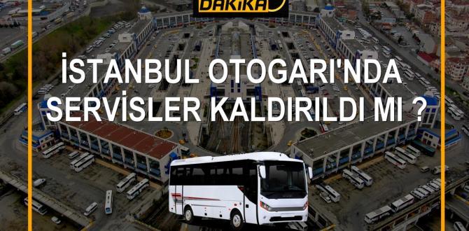 İstanbul'da Şehir içi Servisler Kaldırıldı mı?