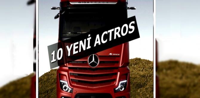 FRC Lojistik'e 10 Yeni Actros