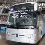 Mercedes-Benz Türk Hoşdere'de 95.000'inci Otobüsünü Üretti