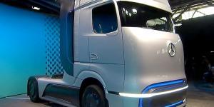 Mercedes Benz Hidrojenli Kamyon Üretecek