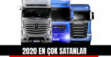 ÇEKİCİ-KAMYON 2020 PAZAR KAPANIŞ SONUÇLARI