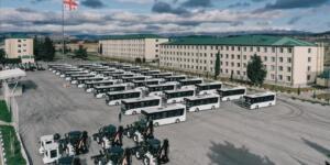 Gürcistan'a 35 BMC Otobüs