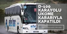 Şehirler Arası Otobüslere Kocaeli Yasağı