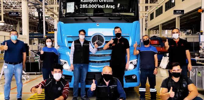Mercedes Benz Türk'ün 285 Bininci Kamyonu ACTROS